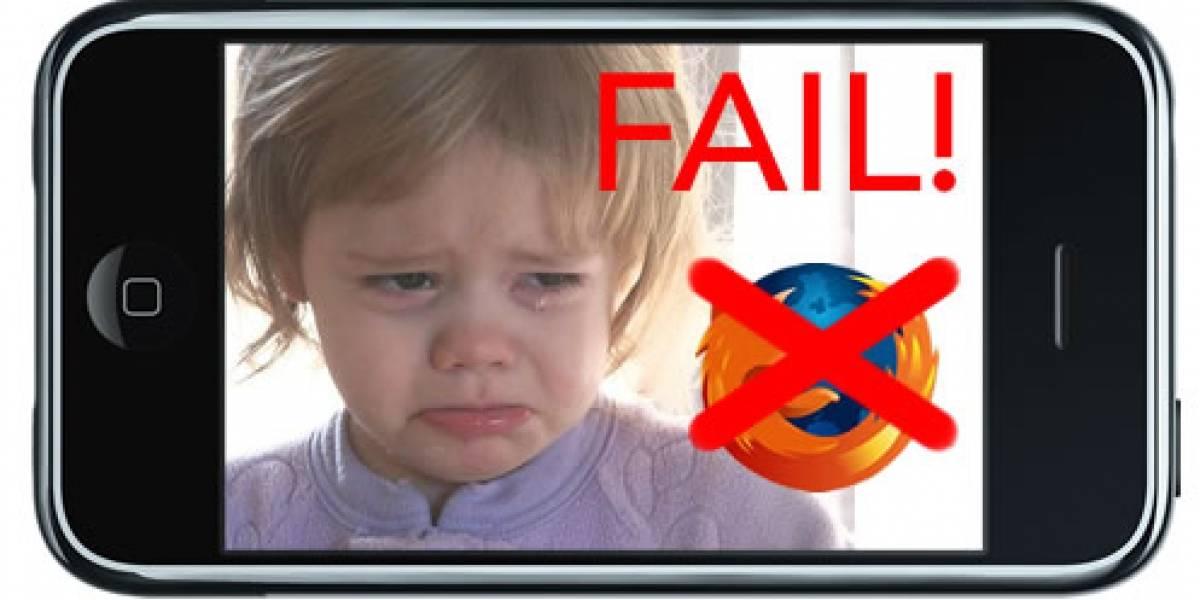 Firefox no llegaría al App Store