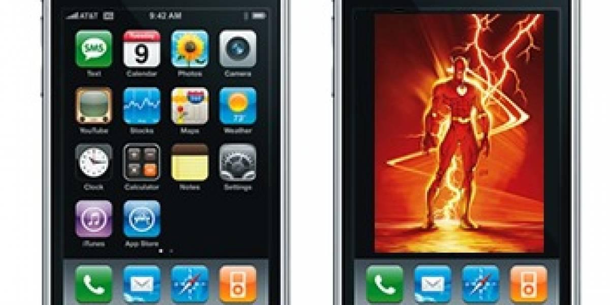 Adobe tiene a Flash funcionando en el iPhone