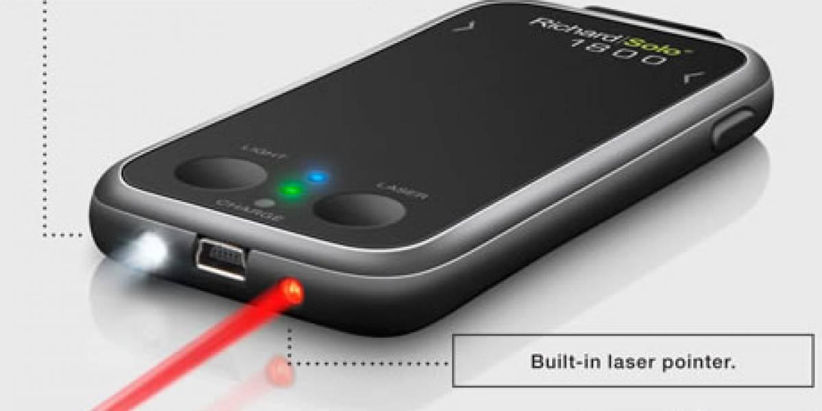 Luz, Laser y Bateria para tu iPhone