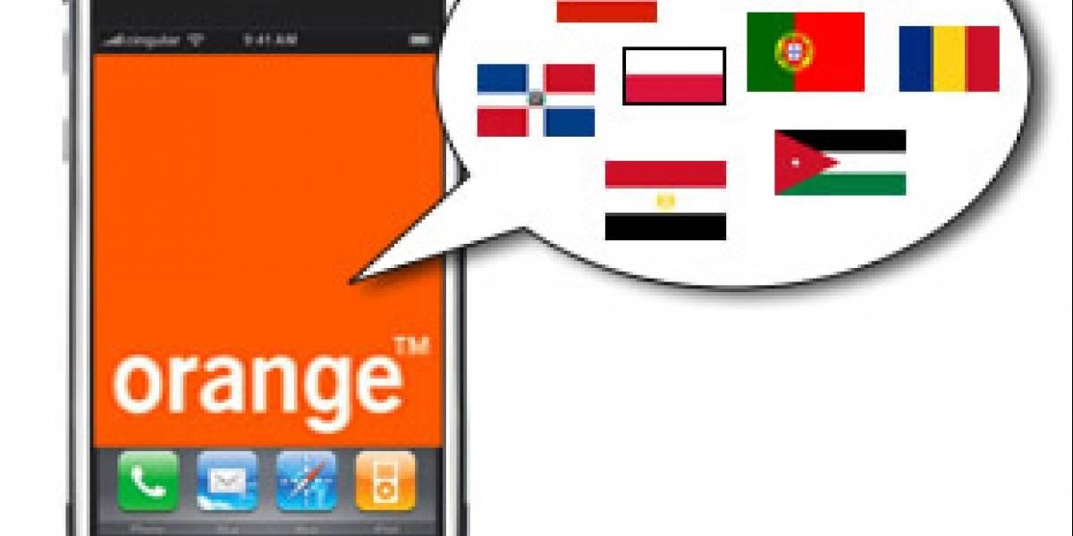 Orange lanzará el iPhone en 9 países