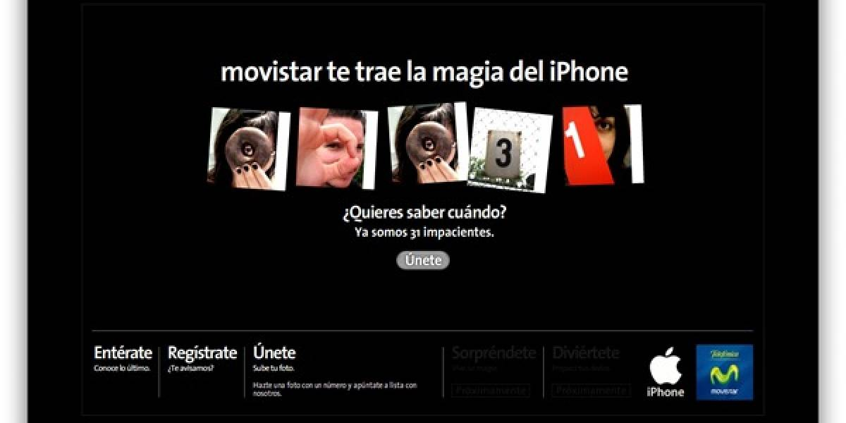 Movistar España calienta motores para la llegada del iPhone