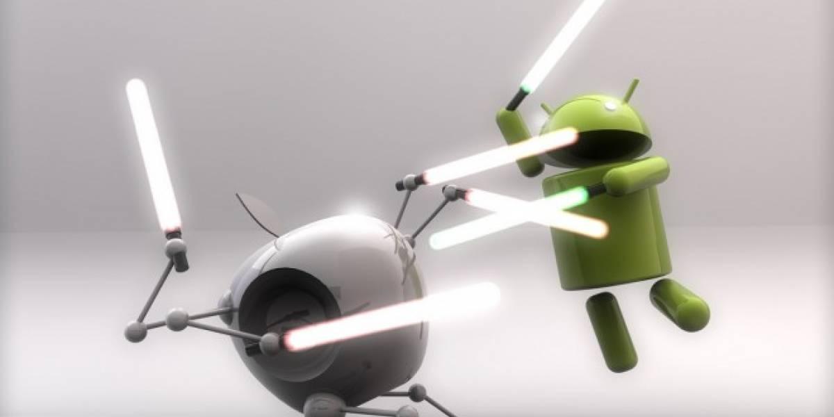El precio promedio de un móvil Android es menor a la mitad de un iPhone
