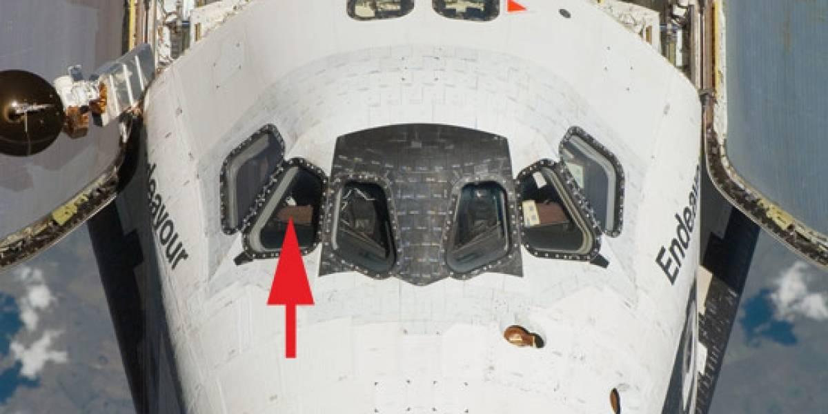 Foto revela iPod en nave espacial Endeavour