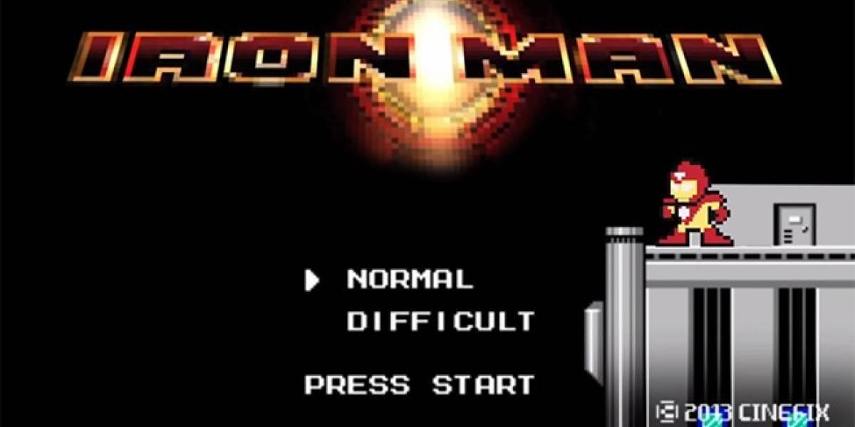 Iron Man salta al mundo de los 8-bits en este genial video