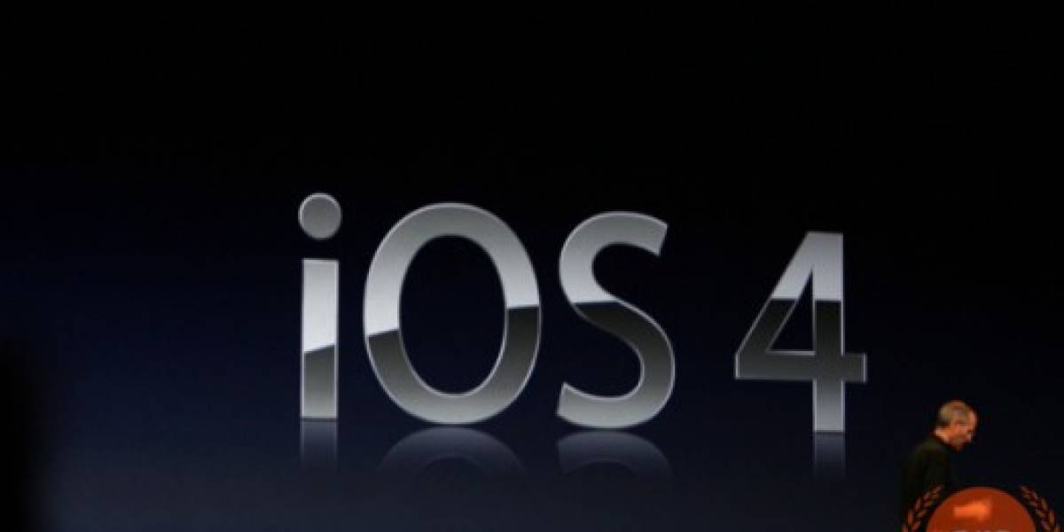 WWDC10: Apple iOS 4 disponible desde el 21 de Junio