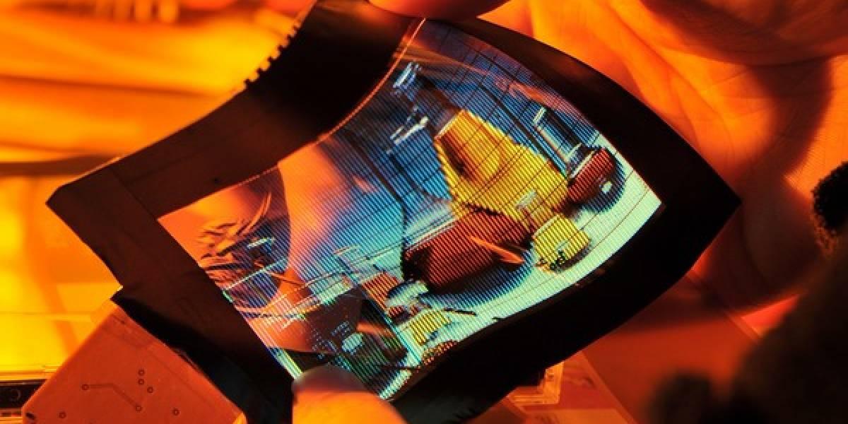 Compañía taiwanesa crea pantalla AMOLED flexible de 6 pulgadas