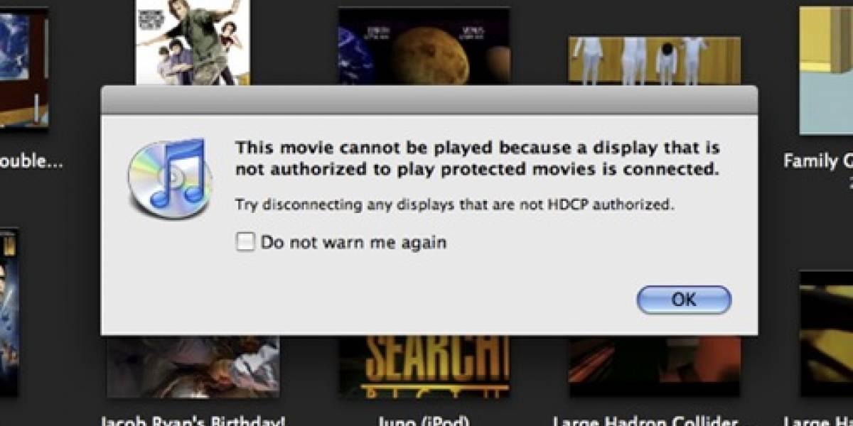 Nuevos Macbooks con protección DRM para el video