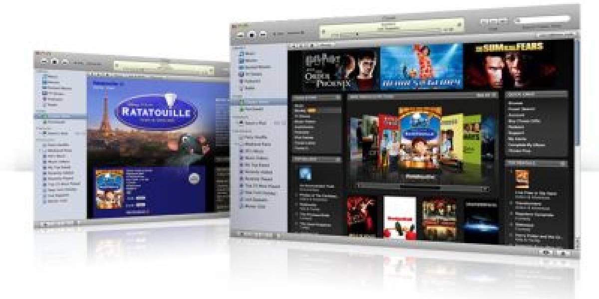 iTunes ofrecerá películas el mismo día que sale en DVD