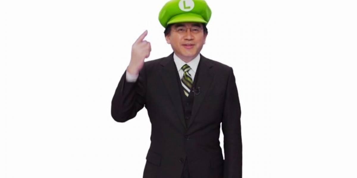 """""""El año de Luigi"""" según Satoru Iwata"""