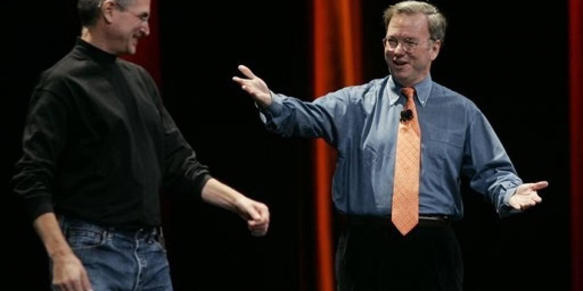 Google alguna vez intentó contratar a Steve Jobs como CEO