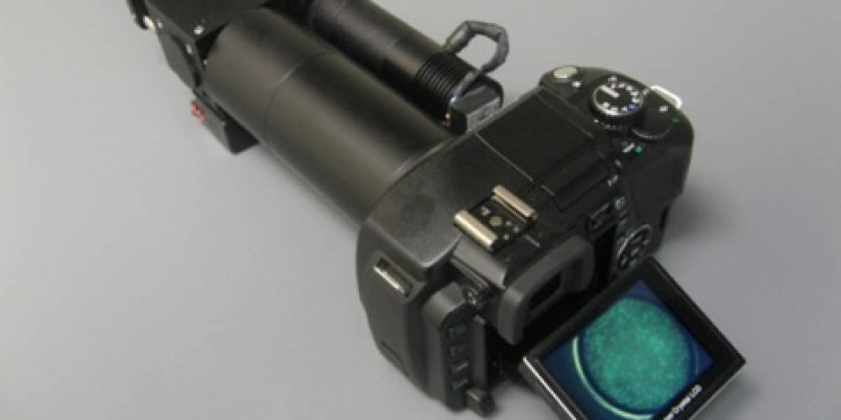 Mod a cámara digital permite ver el cáncer