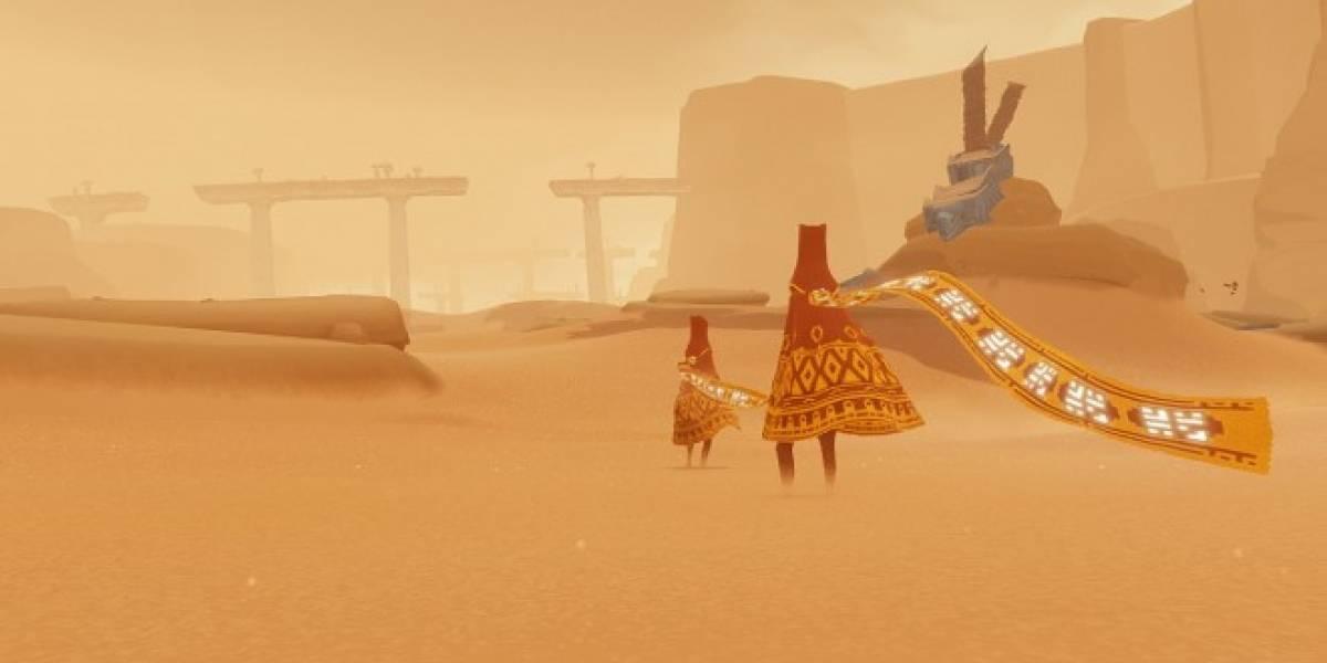 Journey llegará también a PlayStation 4