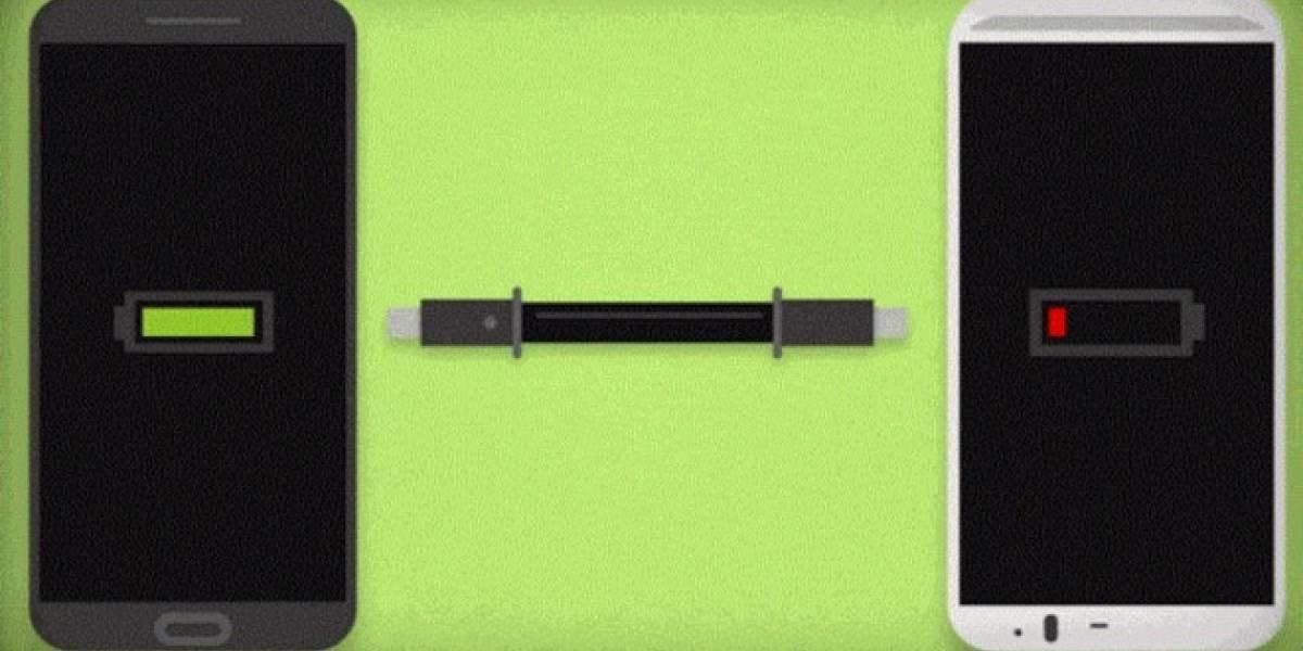 Juicer carga tu smartphone conectándolo a otro smartphone