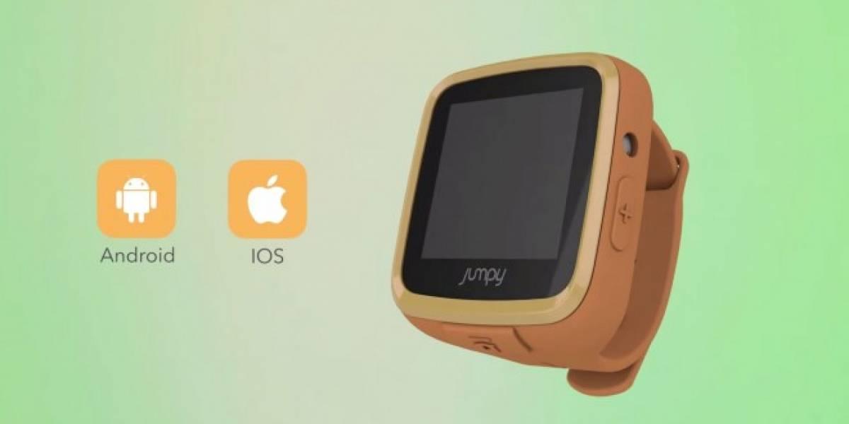 Jumpy, el reloj inteligente para niños