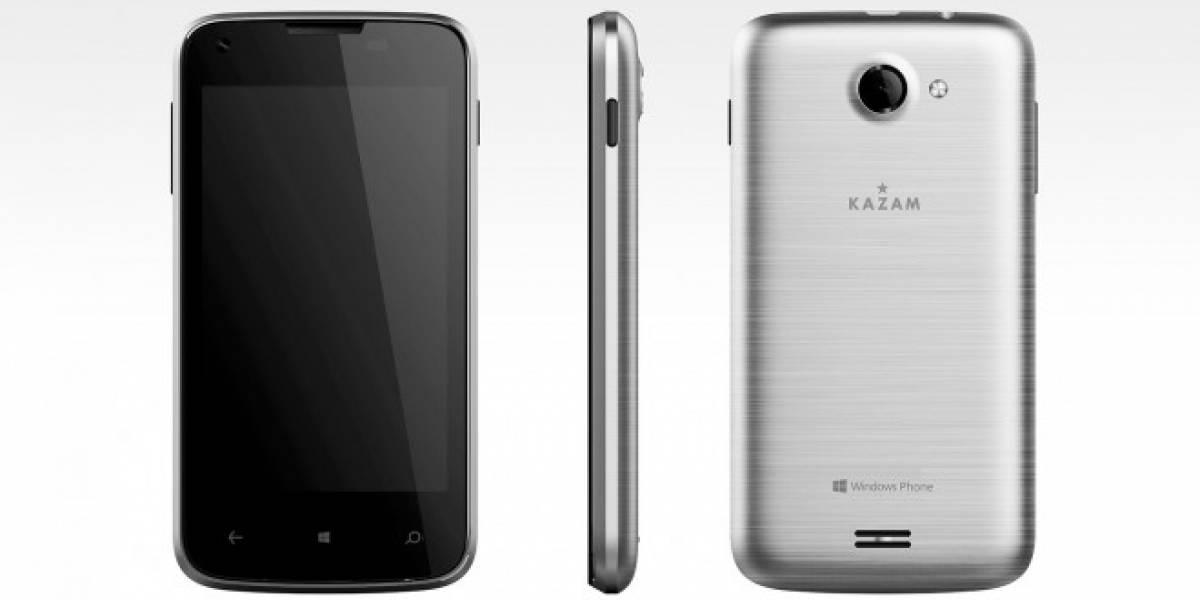 Kazam también lanzará un smartphone barato con Windows Phone