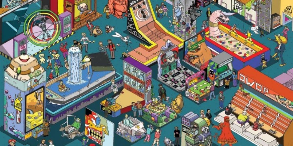 ¿Podrán encontrar los 31 videojuegos escondidos en el póster?