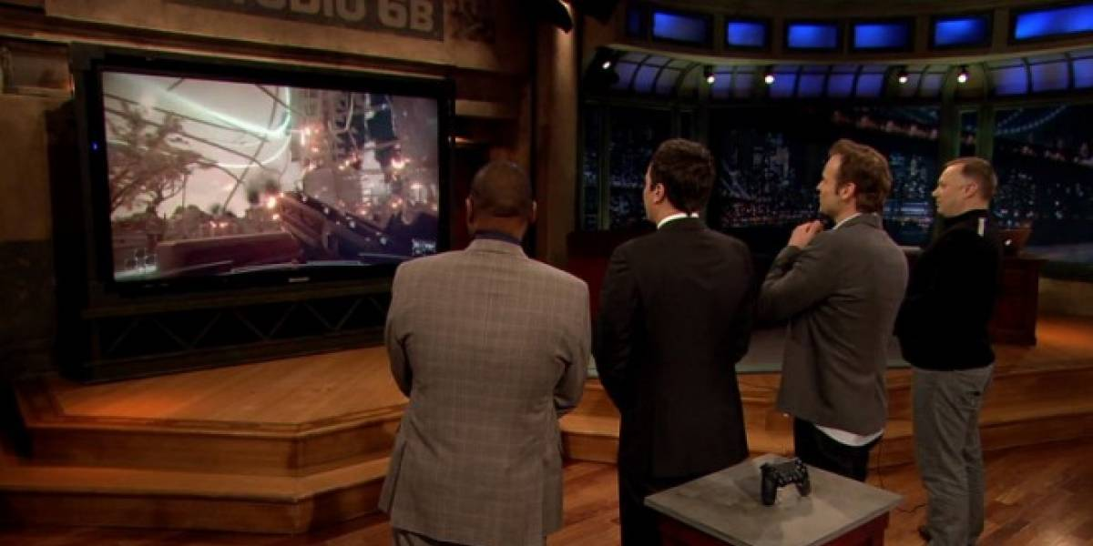 Jimmy Fallon prueba en vivo la demo de Killzone: Shadow Fall