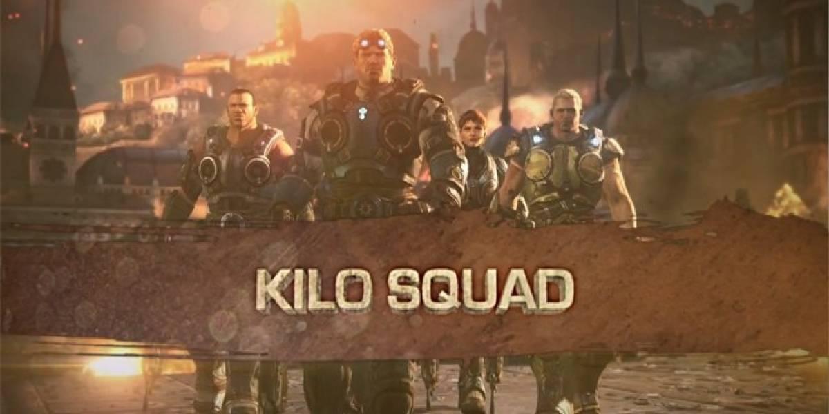 Conoce al Kilo Squad en el nuevo tráiler de Gears of War: Judgment