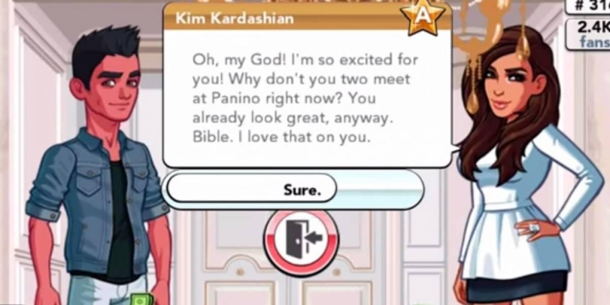 Kim Kardashian prepara el lanzamiento de su propio juego
