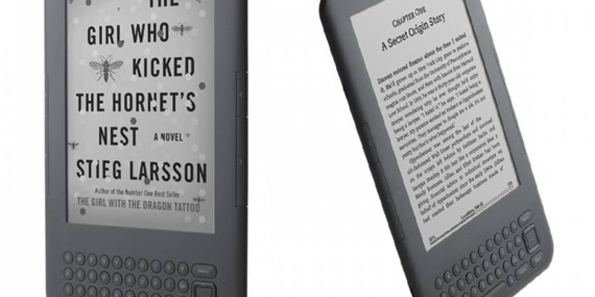 Amazon lanza tercera generación del Kindle