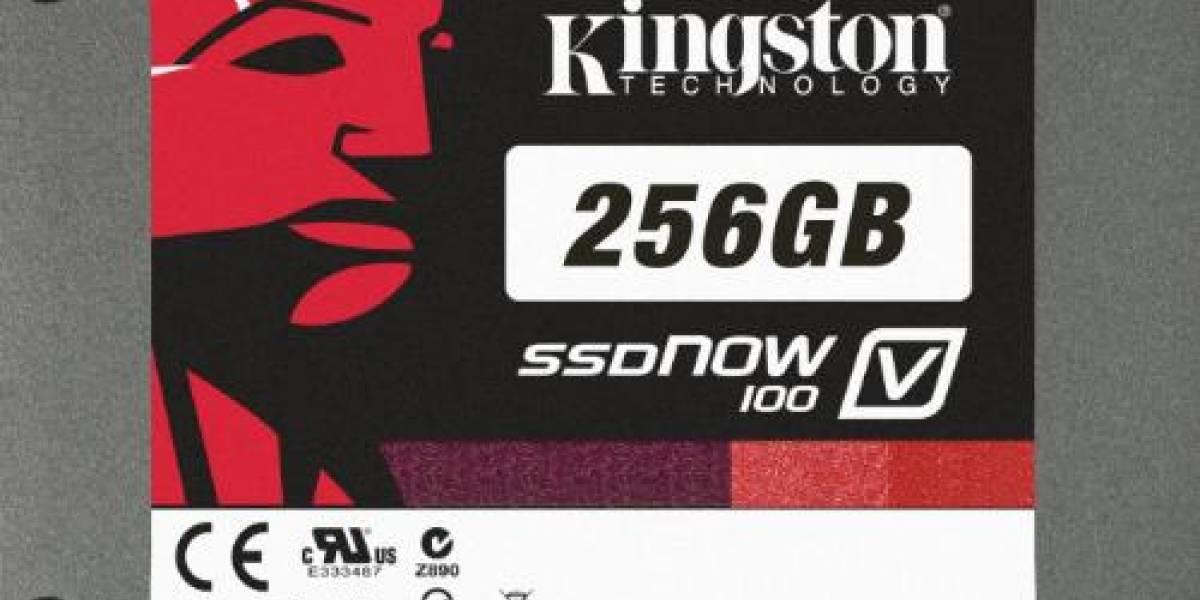 Kingston lanza SSDs V100 de alta velocidad y bajo precio