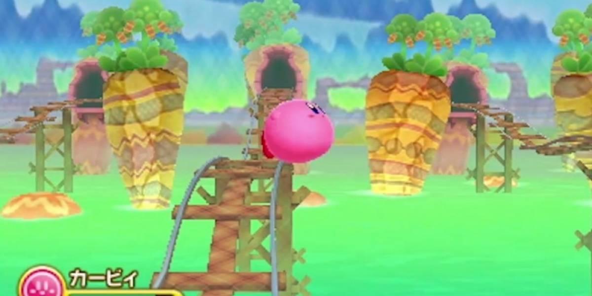 Kirby llegará el 2014 a Nintendo 3DS