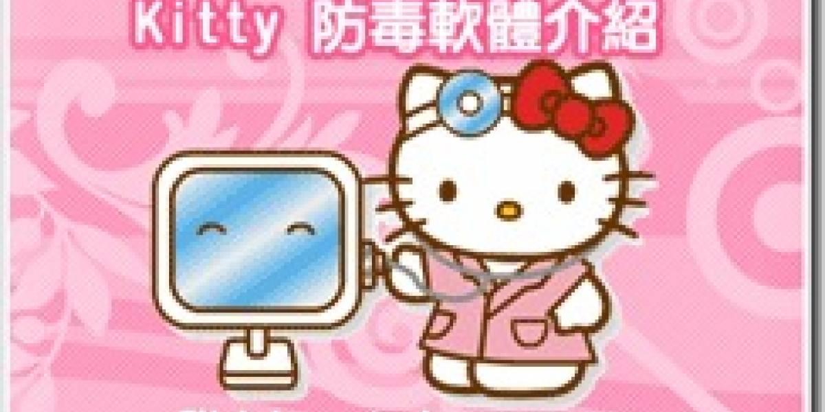 Antivirus Hello Kitty = WTF