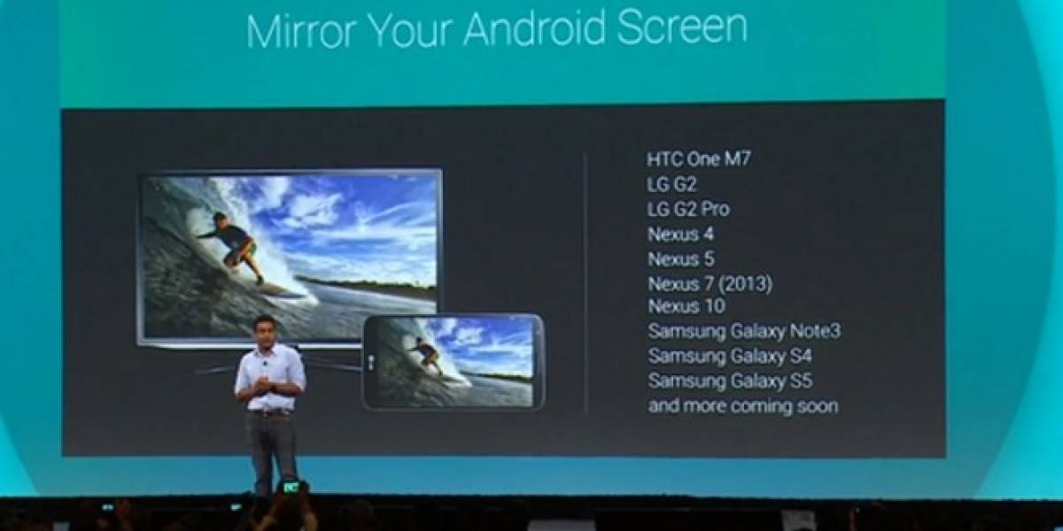 Chromecast ahora permitirá transmitir la pantalla de tu smartphone #IO14