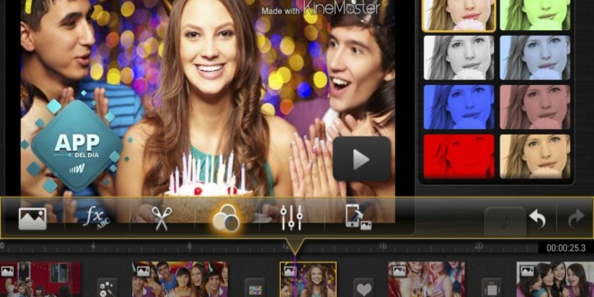 KineMaster, el mejor editor de vídeos para Android [App del día]
