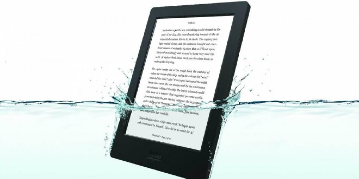 Kobo lanza e-reader a prueba de agua por USD$179