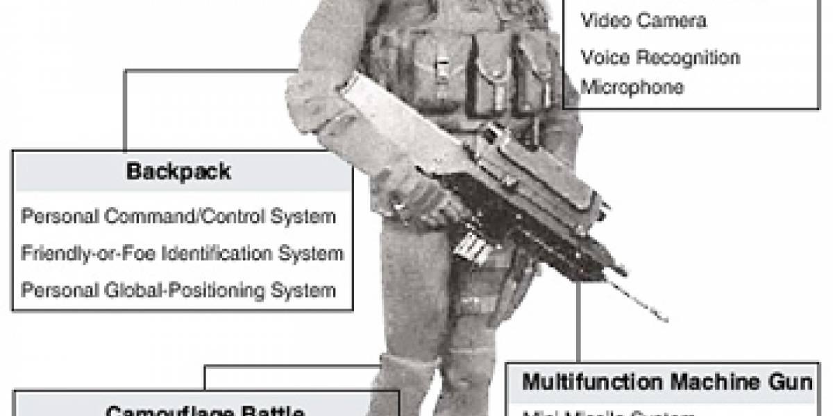 Corea del Sur tendrá soldados como los marines de Halo