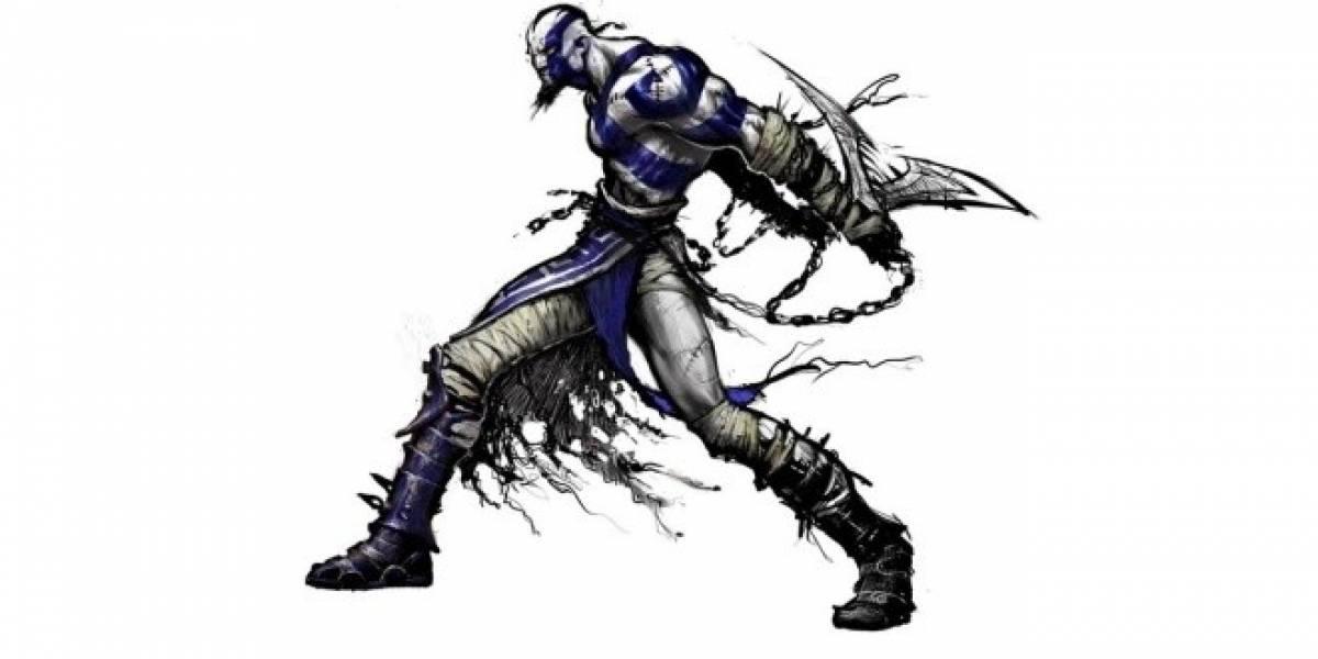 El diseño original de Kratos fue cambiado a causa de Diablo II