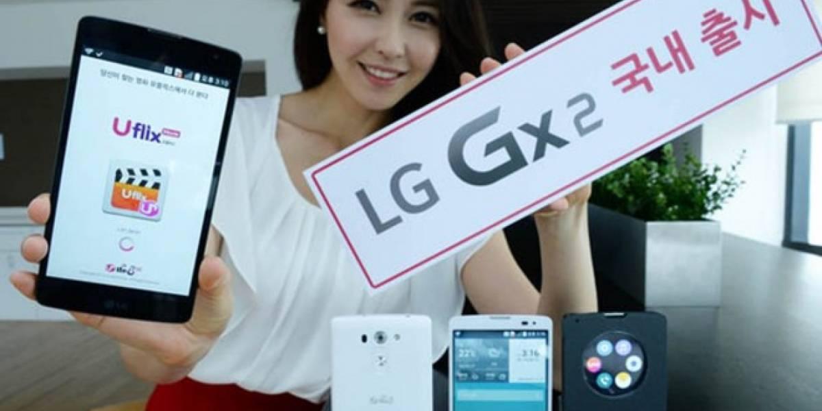 LG lanza nuevo smartphone Gx2 con pantalla de 5,7 pulgadas