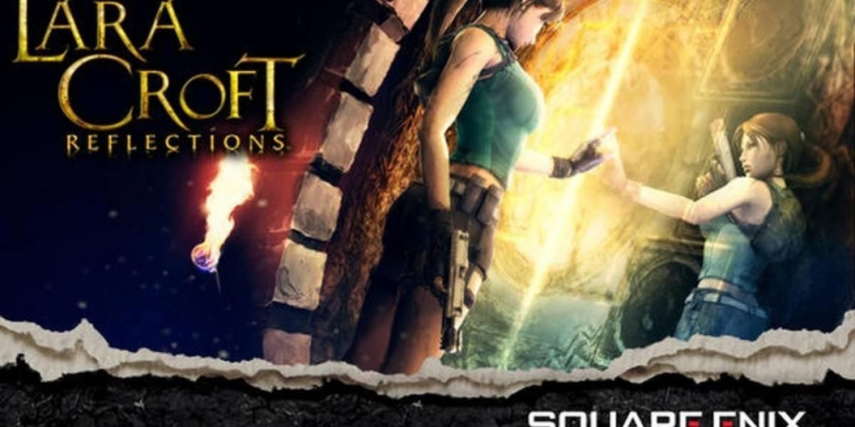Lara Croft: Reflections es un juego de cartas para iOS