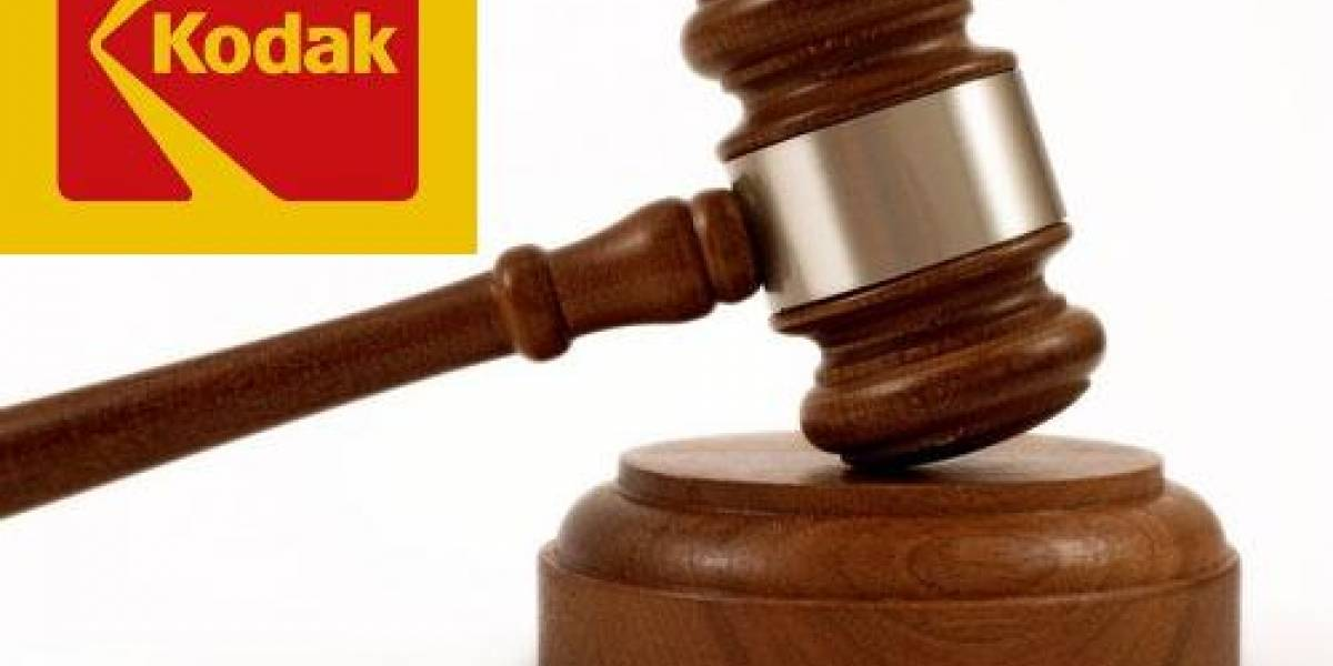 Kodak demanda a LG y Samsung por infringir patentes
