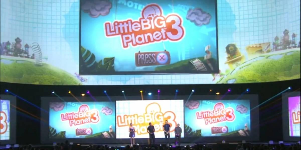 Se anuncia LittleBigPlanet 3 para PS4 #E32014