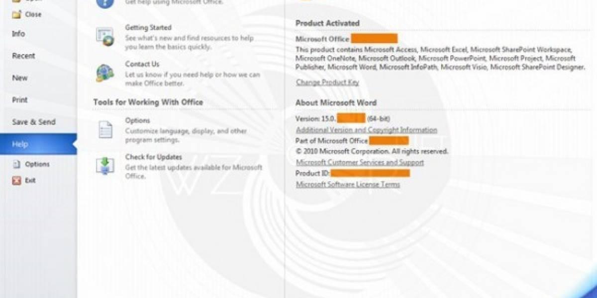 Se filtran detalles y capturas de Office 15/Office 2014
