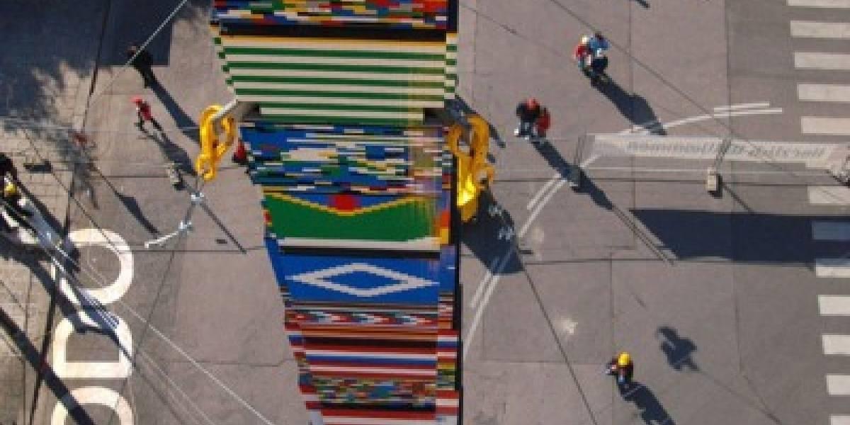 La torre Lego más grande del mundo