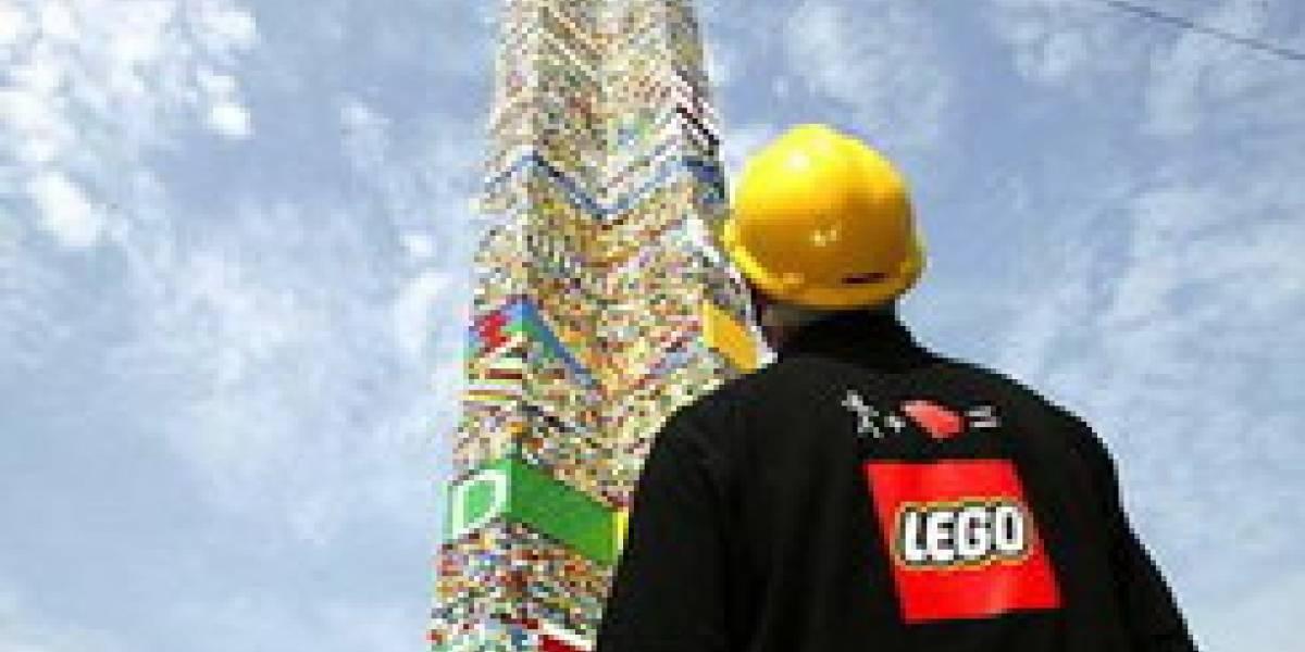 Torre de LEGO más alta del mundo