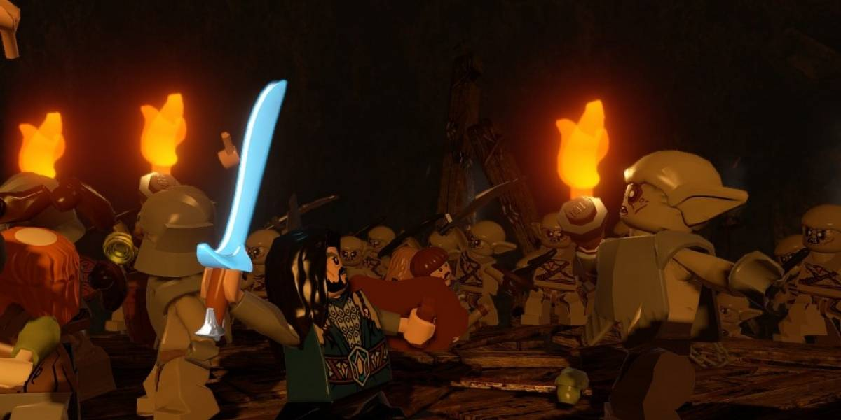 LEGO The Hobbit se estrena el 8 de abril