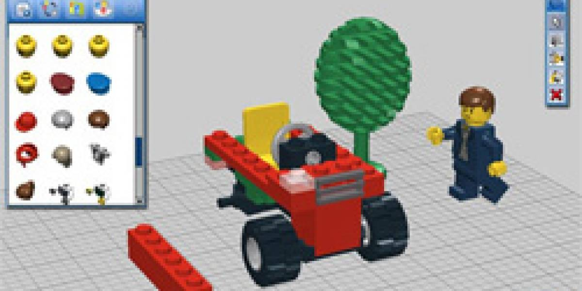 LEGO Digital Designer: Juega gratis con ladrillos Lego en tu pantalla