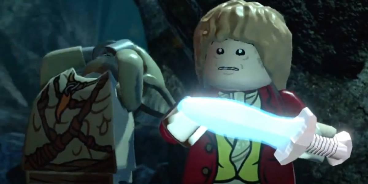 Irreverencia al por mayor en el primer tráiler de LEGO The Hobbit