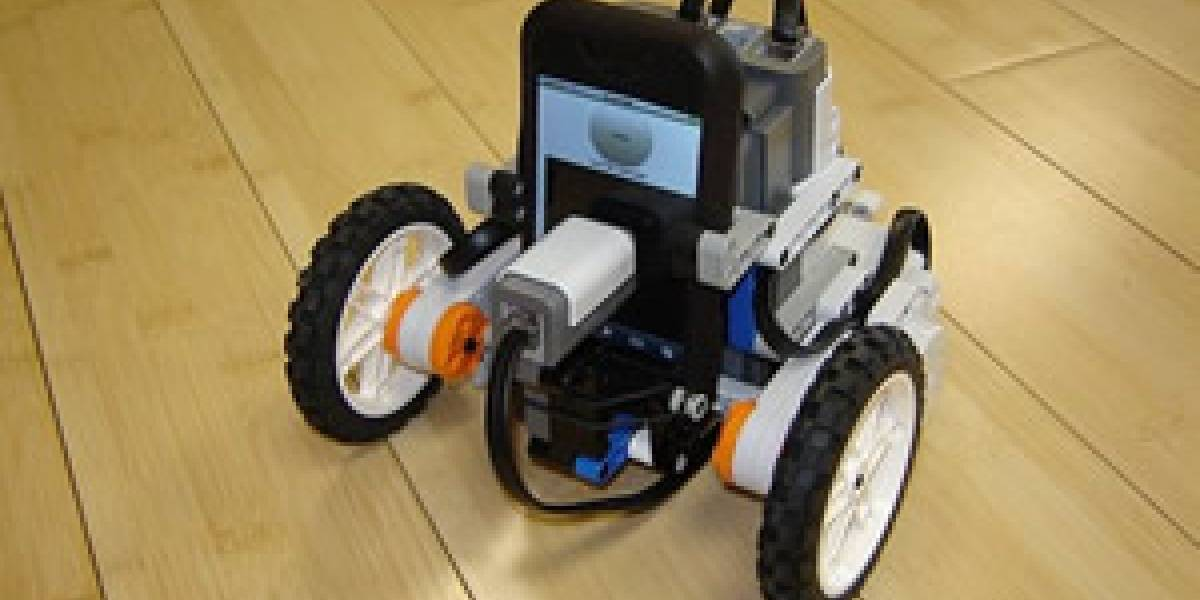 Lego MindStorms NXT + iPhone: Wow