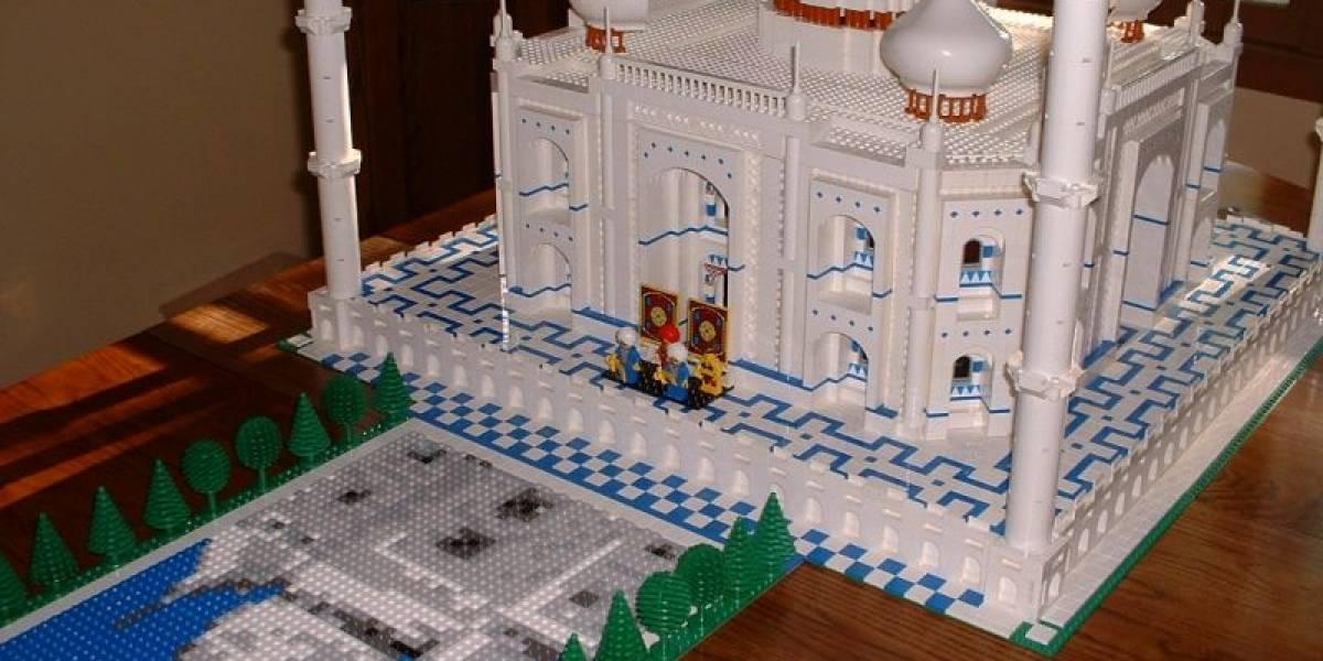 Inmenso LEGO del Taj Mahal rompe el récord de número de piezas