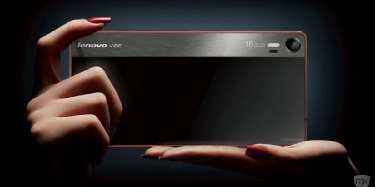 Conozcan el Lenovo Vibe Shot, un smartphone centrado en la fotografía