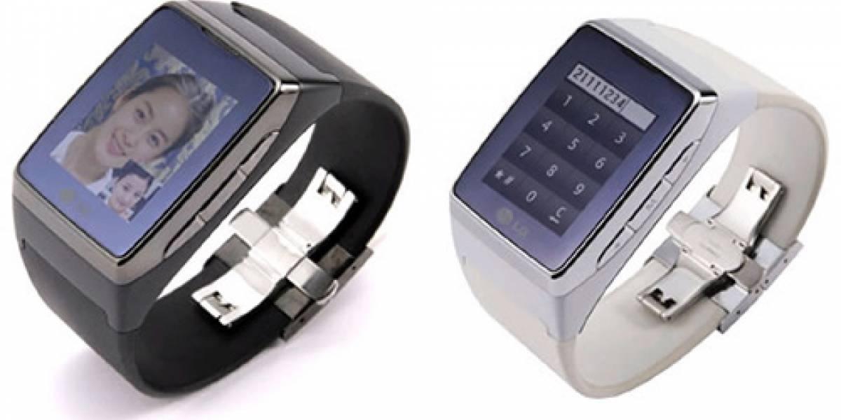 CES09: El teléfono-reloj de LG muestra sus secretos
