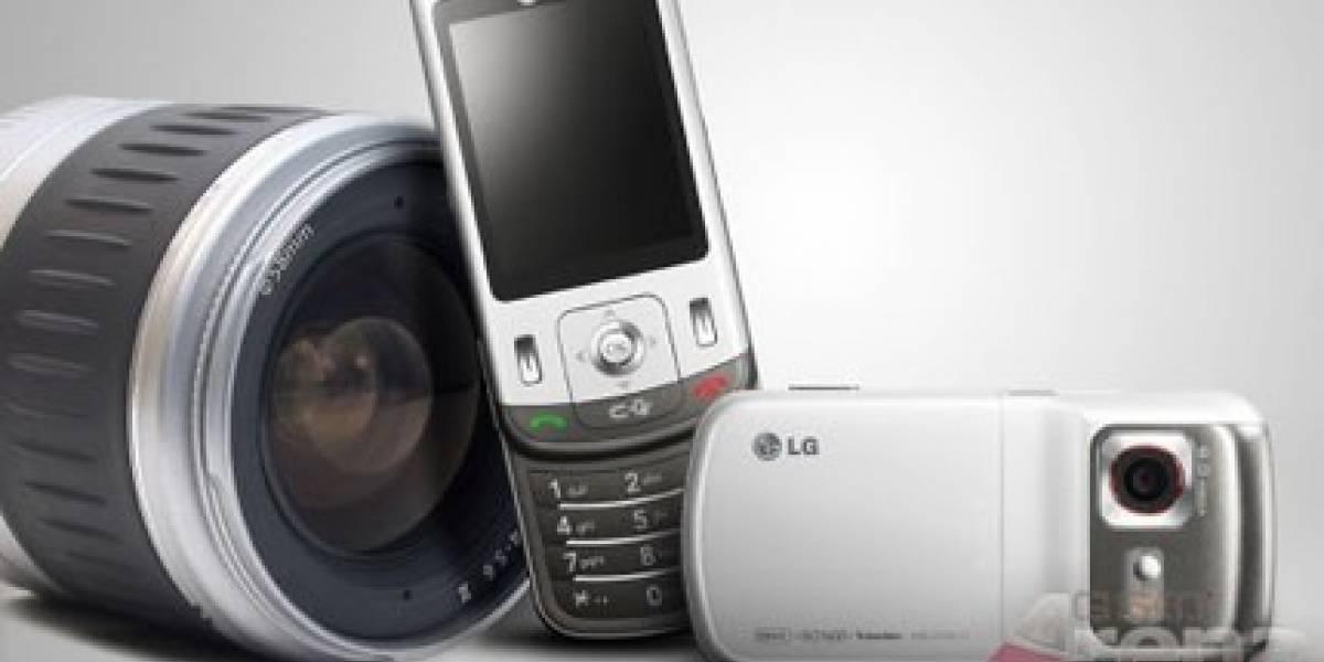 LG y su teléfono con cámara de 8Mpx