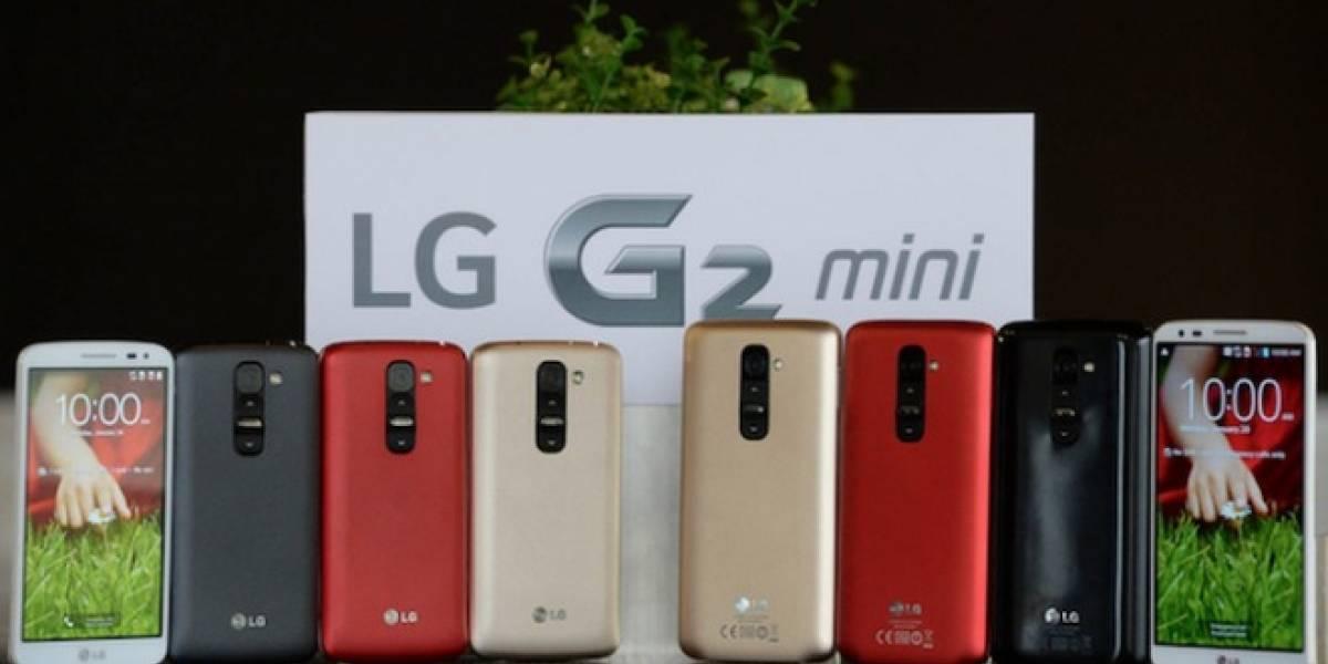 LG G2 Mini hace su estreno previo a #MWC14