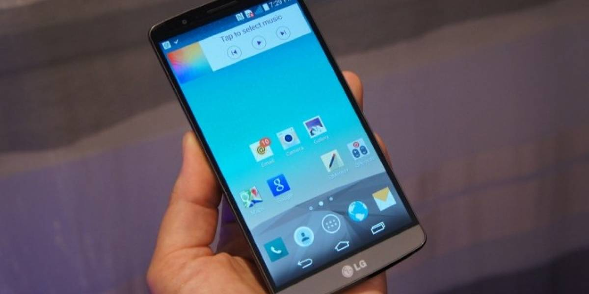 LG vende un récord de 14.5 millones de smartphones