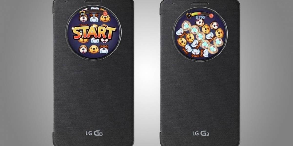 LG presenta un juego exclusivo para la funda QuickCircle